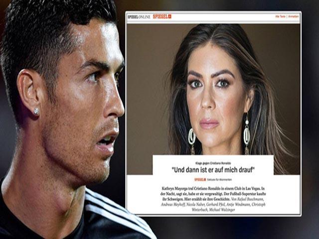 Chấn động Ronaldo bị tố hiếp dâm: Đi tù 6 năm như cựu SAO Ngoại hạng Anh?