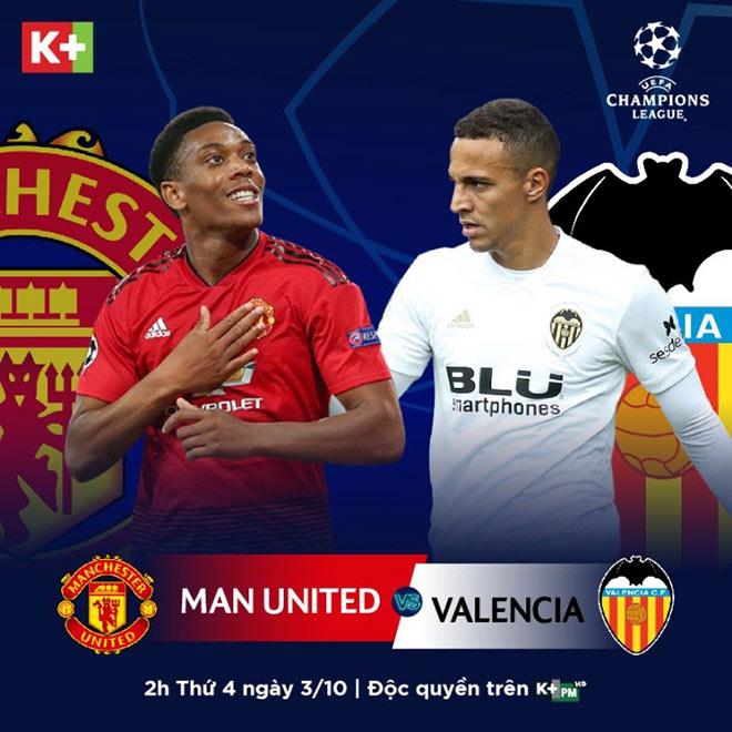 Champions League: Đại chiến MU-Valencia, tìm người chia lửa cho Pogba - 1
