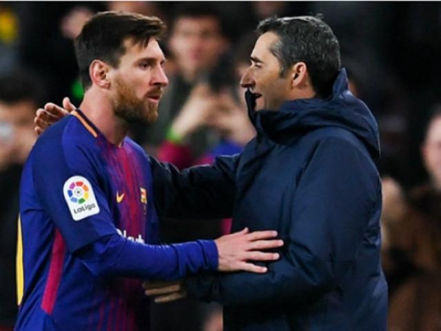 "Barca sa sút ở La Liga: Valverde ""cắp cặp"" học Real - Zidane chinh phục C1?"