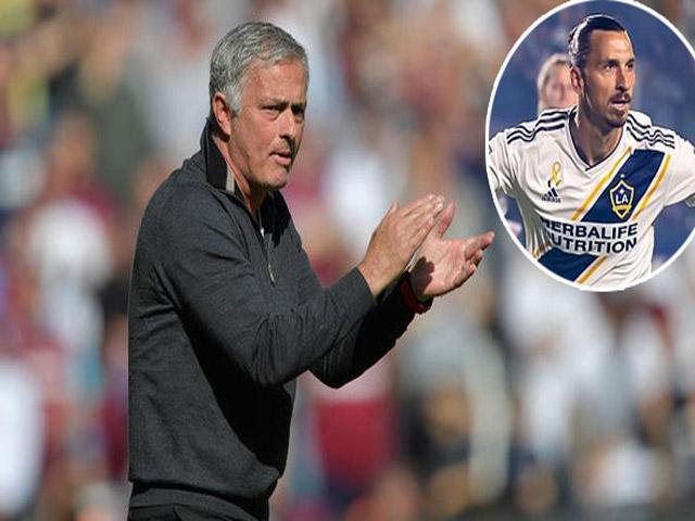 Mourinho cứu ghế nóng ở MU: Triệu hồi Ibrahimovic vào tháng 1?