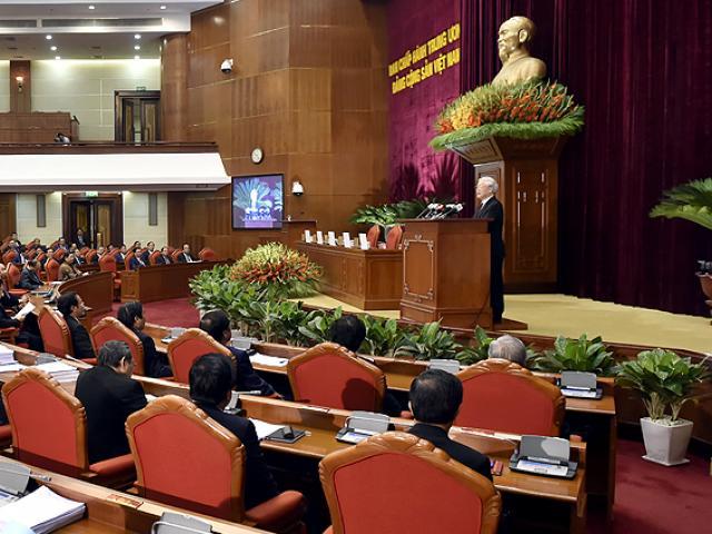 Tổng Bí thư phát biểu khai mạc Hội nghị Trung ương 8