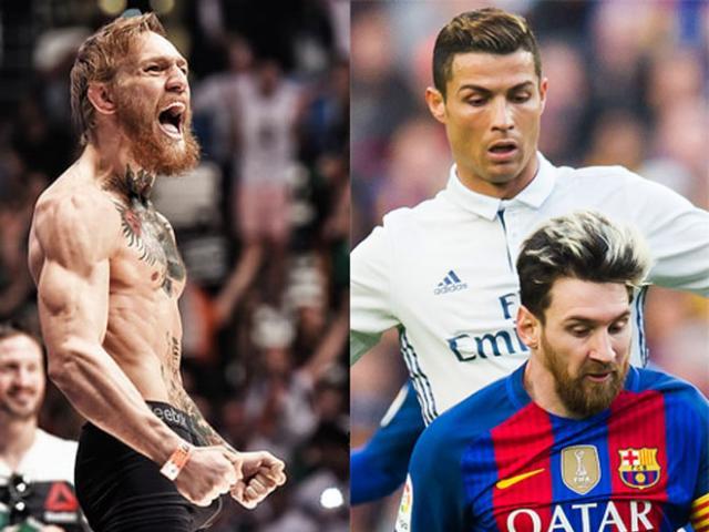 """Sốc: McGregor đánh Khabib 1 trận bằng Messi - Ronaldo """"cày"""" 1 năm"""