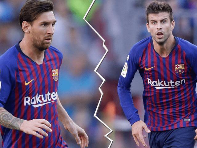 Barca rối loạn: Cực sốc Messi và bạn thân Pique không nhìn mặt nhau