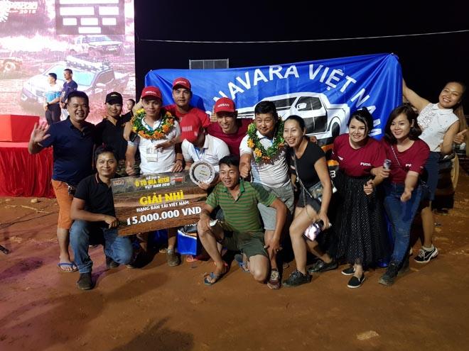 Nissan Navara xuất sắc giành ngôi vị Á quân tại VOC 2018 - 1