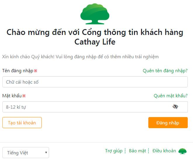 Cathay Life Việt Nam ra mắt Website phiên bản mới & công thông tin khách hàng - 1