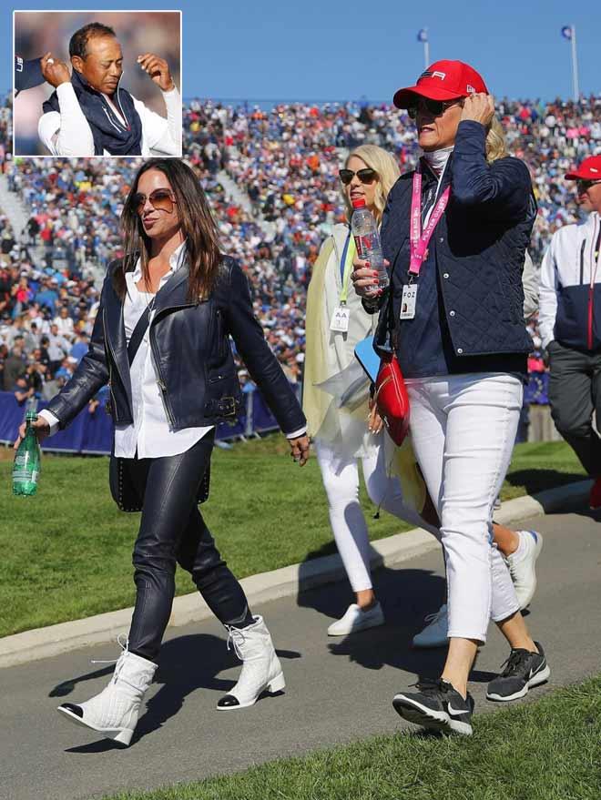 Golf 24/7: Tiger Woods kiệt sức, bạn gái tỏa sáng - 1