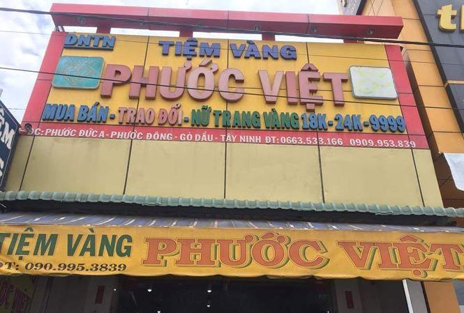 Tiệm vàng ở Tây Ninh báo mất trộm 100 cây vàng - 1