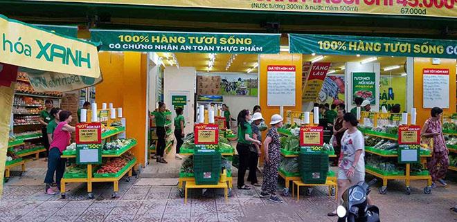 """""""Độc nhất vô nhị"""" như siêu thị mở giữa lòng chợ của Bách hóa Xanh - 1"""
