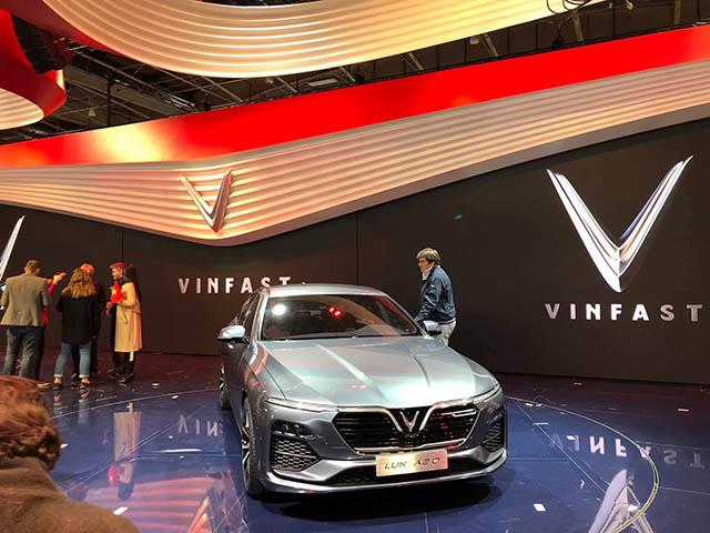 Chi tiết nội thất xe VinFast vừa ra mắt
