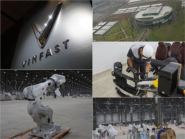 Bên trong nhà máy lắp ráp ôtô của VinFast ở Hải Phòng có gì?