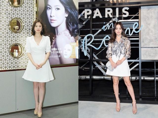 """Người đầy khiếm khuyết, Song Hye Kyo vẫn là """"quốc bảo nhan sắc"""" nhờ khéo mặc"""