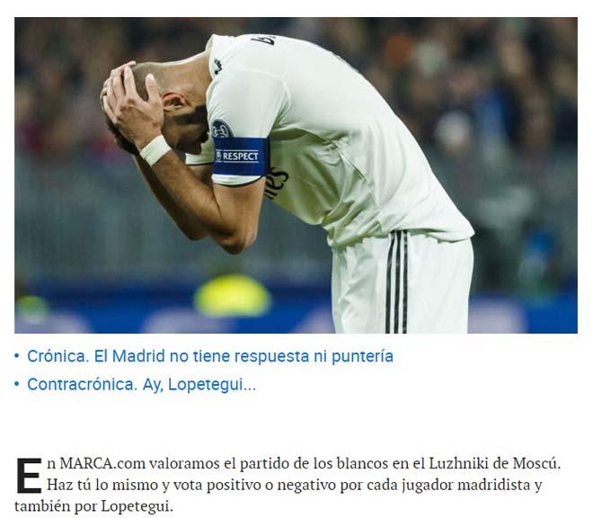 """""""Vua cúp C1"""" Real thua sốc: Báo Tây Ban Nha chỉ ra """"điểm đen"""" - 1"""