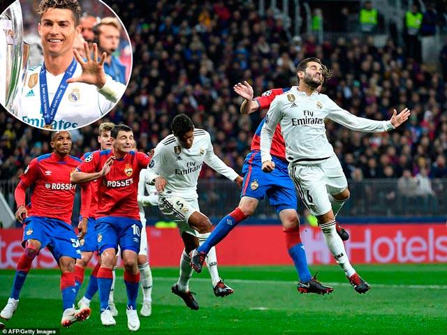 Real Madrid 3 trận 0 bàn thắng: Nội bộ hỗn loạn vì Ronaldo