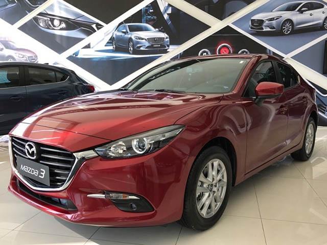 Giá xe Mazda 3 cập nhật tháng 10/2018: Phiên bản Mazda 3 1.5L ổn định ở mức 659 triệu đồng