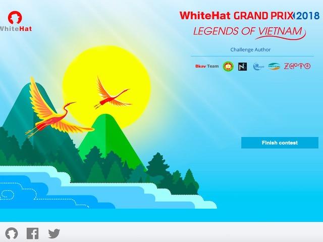 Nhiều nhóm bảo mật thuộc top thế giới sắp tranh tài tại WhiteHat Grand Prix 2018