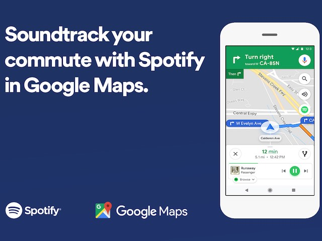 Google Maps tích hợp Spotify để... âm nhạc dẫn dắt hành trình