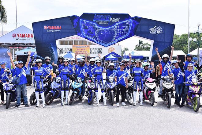Biệt đội Yamaha Exciter Angels hào hứng khám phá Exciter 150 mới - 1