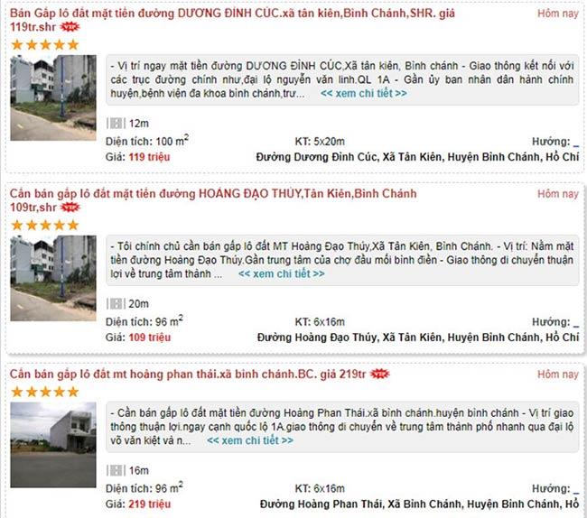 Cẩn thận trước thông tin rao bán bất động sản trên mạng - 1