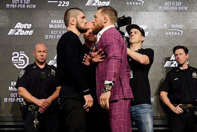 """Đại chiến UFC: McGregor lộ tử huyệt vẫn lấy """"địa ngục"""" ra dọa Khabib - 1"""