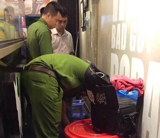 Quán trà sữa trên đường Đinh Tiên Hoàng bị ném vật thể lạ gây nổ lớn - 1