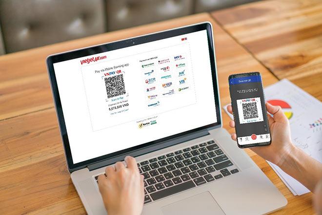 Vietjet Air triển khai thanh toán nhanh qua mã QR Code, lợi nhất tín đồ săn vé giá rẻ - 1