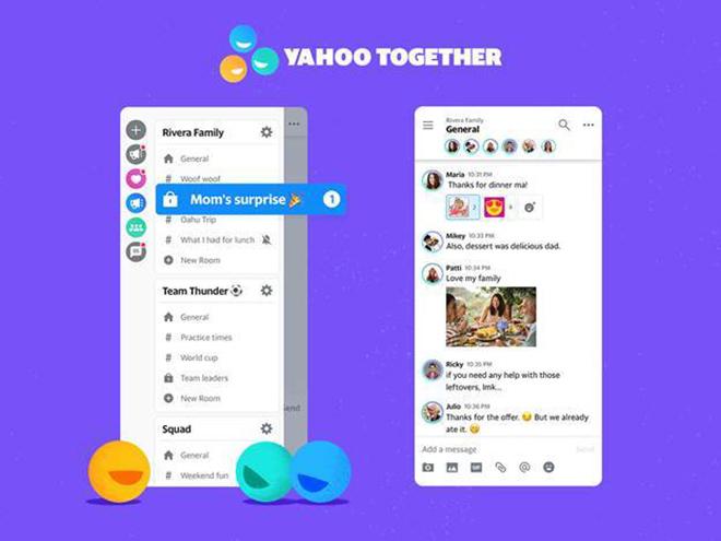 Yahoo chính thức trở lại với trình nhắn tin Yahoo Together - 1
