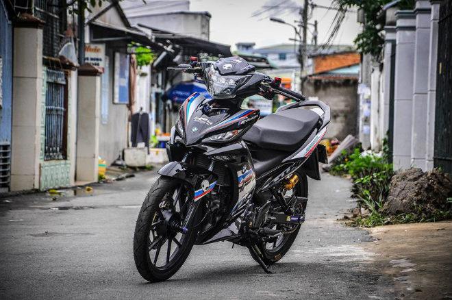 Quá đẹp Yamaha Exciter độ đồ chơi hay, dàn áo BMW cực chất - 1