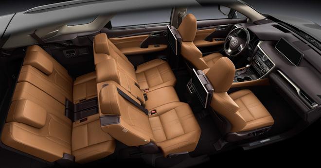 Ảnh thực tế Lexus RX350L 7 chỗ giá 4,09 tỷ đồng - 12