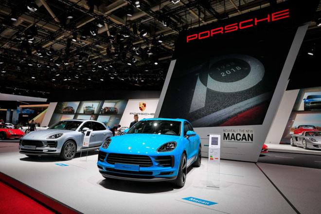 Porsche chính thức giới thiệu Macan 2019 tại châu Âu với giá đề xuất từ 1,576 tỷ đồng - 1