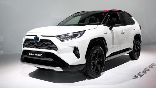 Toyota RAV4 Hybrid chính thức ra mắt tại Paris Motor Show 2018 - 1