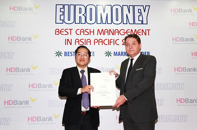 HDBank – Ngân hàng có dịch vụ quản lý tiền mặt tốt nhất Châu Á, TBD năm 2018 - 1