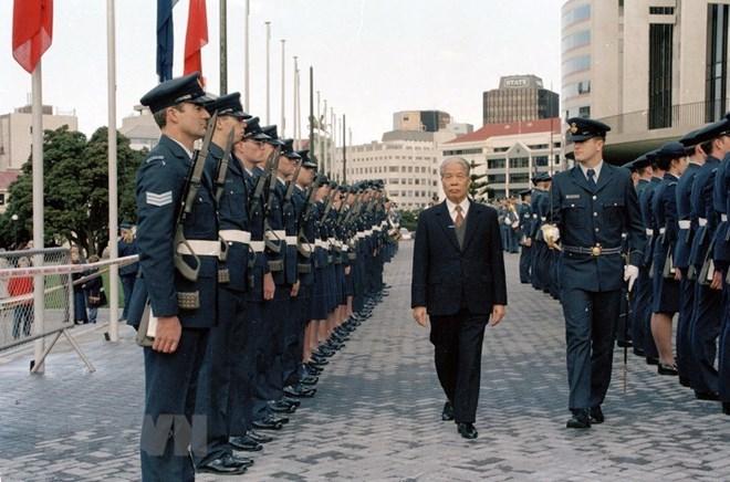 Lễ viếng và mở sổ tang Tổng Bí thư Đỗ Mười tại Liên hợp quốc - 1
