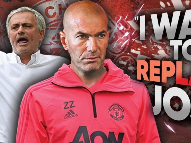 Nếu Zidane đến MU thay Mourinho: Huyền thoại Pháp hứa làm liều