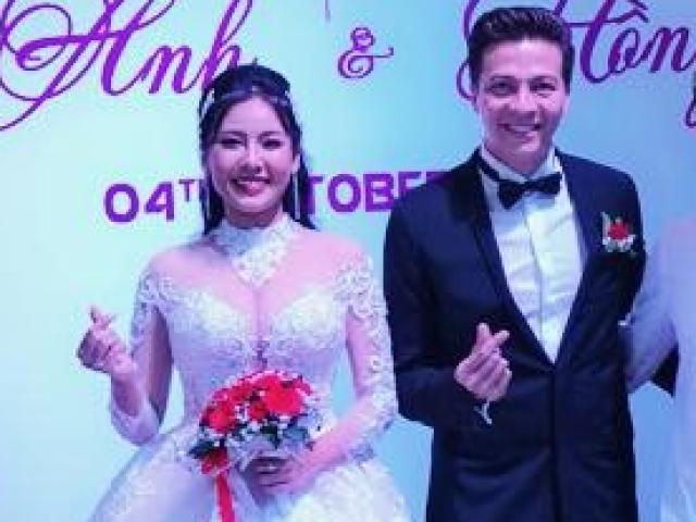 Diễn viên Hoàng Anh bí mật tổ chức đám cưới lần 2 với vợ xinh như hoa hậu