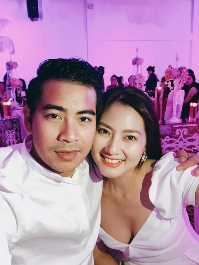 Diễn viên Hoàng Anh bí mật tổ chức đám cưới lần 2 với vợ xinh như hoa hậu - 1