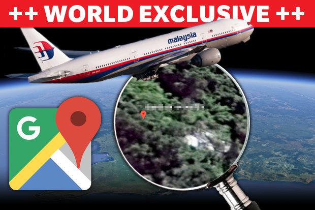 """Máy bay thứ hai nằm gần nơi nghi """"MH370 gãy thân"""" ở rừng Campuchia? - 1"""