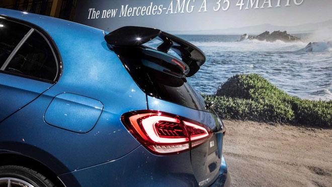 Mercedes-Benz A35 AMG sẽ bán ra vào tháng 12/2018: Giá từ 1,063 tỷ đồng - 4