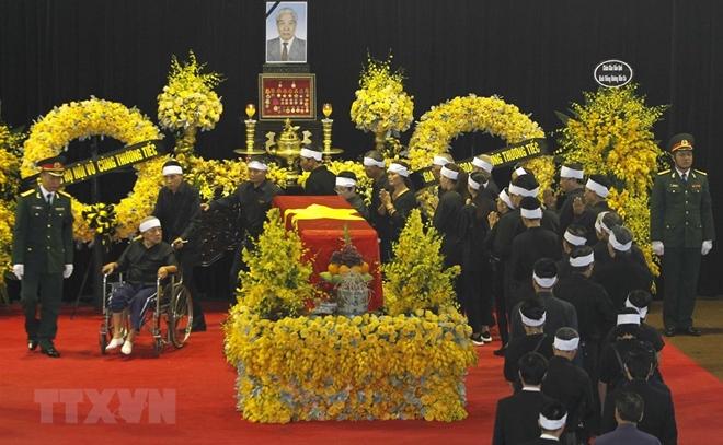Những hình ảnh cảm động tại Lễ tang nguyên Tổng Bí thư Đỗ Mười - 1