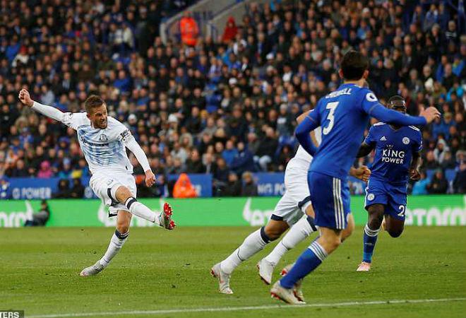 """Leicester - Everton: Siêu phẩm """"nã đại bác"""" hạ gục 10 chiến binh - 1"""