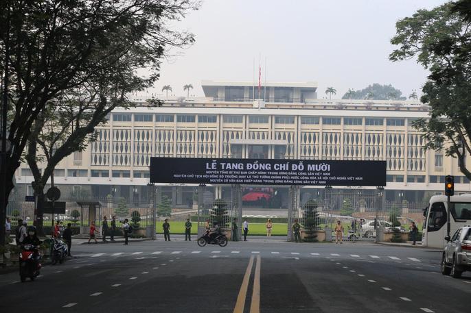 Xúc động lễ viếng nguyên Tổng Bí thư Đỗ Mười tại TP HCM - 1