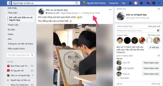 Cách tải video trong nhóm bí mật trên Facebook - 1
