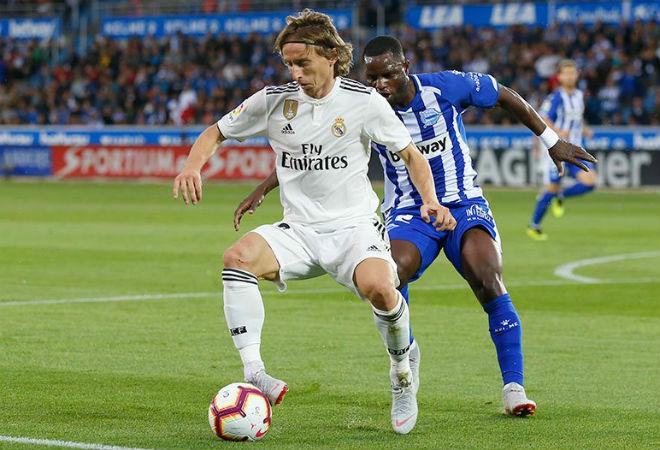 Alaves - Real Madrid: Thảm họa phút 90+5 - 1