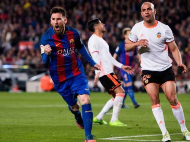 """Trực tiếp bóng đá Valencia - Barcelona: Trông chờ """"đấng cứu thế"""" Messi"""