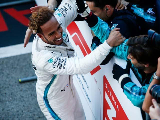 """Đua xe F1, Japanese GP 2018: Hamilton """"bỏ túi"""" chức vô địch 2018"""