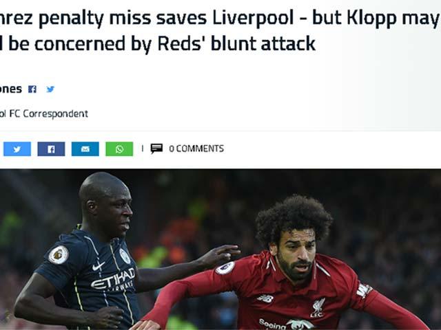 """Liverpool đại chiến Man City: Báo Anh than thở ngôi sao đồng loạt """"hóa cùn"""""""