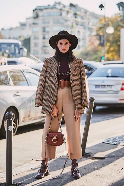 Gợi ý kiểu áo khoác công sở xinh từ Tuần lễ thời trang - 1