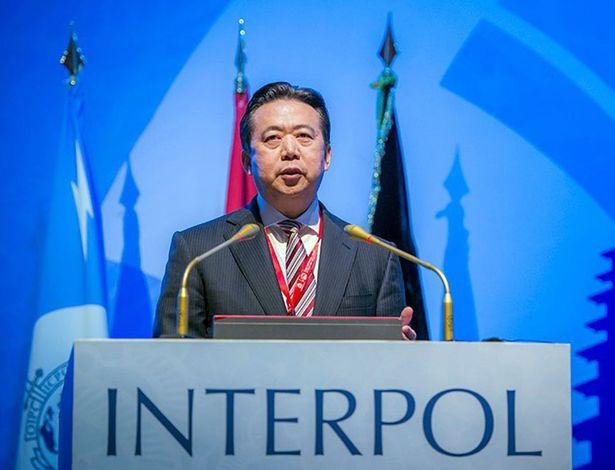 Chủ tịch Interpol vợ gửi tin nhắn có hình con dao trước khi bị bắt - 1