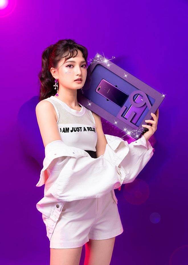 """Không bỏ lỡ trend, Oppo tung F9 phiên bản Tím Tinh Tú dành riêng cho bạn trẻ """"nổi loạn"""" - 1"""