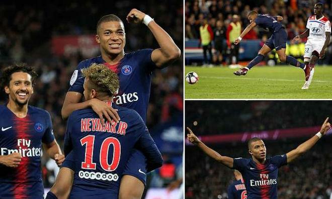 """""""Thần đồng"""" Mbappe phá kỷ lục 45 năm: Tuyên chiến Neymar, PSG hưởng lợi - 1"""