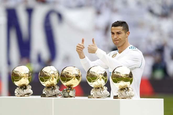"""Công bố đề cử Quả bóng Vàng 2018: """"Vua"""" Ronaldo đấu 29 kẻ lật đổ - 1"""